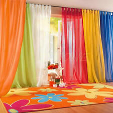 10Colors Hot Home Door Window Room Divider Shade Sheer Voile Drape Panel Curtain