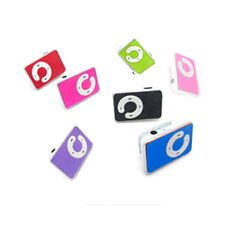 Mini 5 Colors Support Up To 8GB Clip USB MP3 Player Micro SD TF Memory Card K89