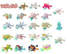 Mary Meyer Wubbanub Plush Pacifier Soothie Holder Choice of Designs