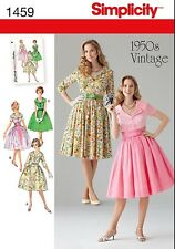 Simplicity 1459 aka S0508 Paper Sewing Pattern 1950's Vintage Style Dress 8-24