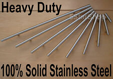 Heavy Duty Modern Solid Stainless Steel Kitchen Cabinet Handles Bar T Handle