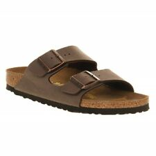 Birkenstock ARIZONA Mens Womens Unisex Birko-Flor Soft Comfy Sandals Mocca Brown