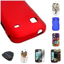 For Samsung REPP R680 Various Hard Rubberized Plastic / Design Phone Cover Case