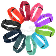 3D Pattern Replacement Wrist Band w/ Plastic Clasp For Fitbit Flex no tracker