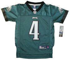 Youth sized NFL Philadelphia Eagles #4 Kevin Kolb Throwback Football Jersey Dark