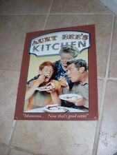 Andy Griffith Show Aunt Bee's Kitchen Retro Decor Metal Tin Sign Classic TV NICE