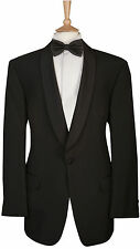 Mens Shawl Collar Dinner Suit Jacket Formal Black Tie Prom Wedding Tuxedo Coat