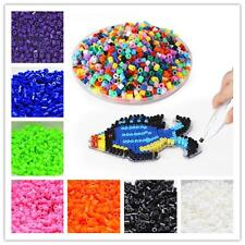 1000pcs New HAMA/PERLER Beads 5mm For GREAT Kids Fun Craft 13 Single Color 6L