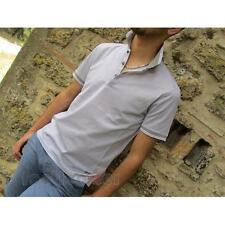 Cerruti 1881 Polo Shirt Short Sleeve 9321800 986 Man Grey Italian Style Moda