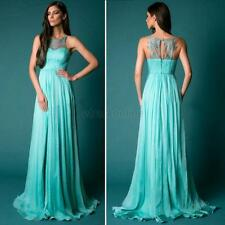 Sexy Women Lace Long Gown Prom Chiffon Bridesmaid Formal Party Cocktail Dress