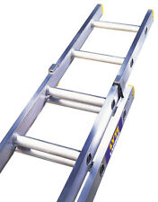 Trade Double & Triple Section Aluminium Extension Ladders British Manufactured