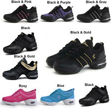 Women Sneakers Modern Jazz Hip Hop Dance Lace Up Shoes Breathable Sports Trainer
