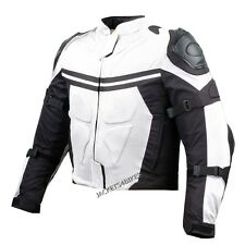 PRO MESH MOTORCYCLE JACKET RAIN WATERPROOF WHITE