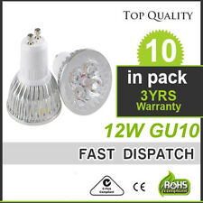 10pcs 12W GU10 LED bulb 4X3W CREE Spotlight home lamp Ceiling indoor white bulb