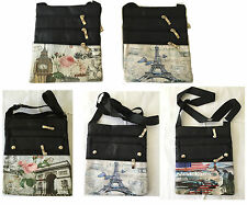 Da Donna Bambine piccolo di Parigi, Londra e New York FASHION Shoulder Bag Purse Handbag