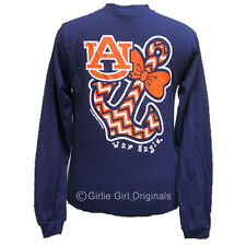 "Girlie Girl Originals ""Auburn Bowtie Anchor"" Long Sleeve Unisex Fit T-Shirt"