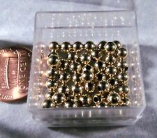 4mm Round Smooth Gold Filled Beads Choose the quantity Heavy wall Made in USA