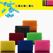 """Colorful Soft Sleeve Bag Case Pouch Cover Zipper F 14"""" Laptop Ultrabook Notebook"""