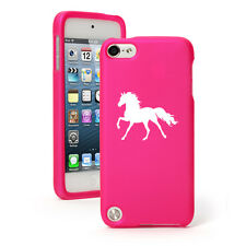 For Apple iPod Touch 4th 5th 6th Rubber Hard Case Cover Horse
