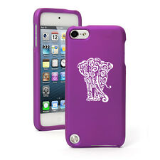 For Apple iPod Touch 4th 5th 6th Rubber Hard Case Cover Tribal Elephant