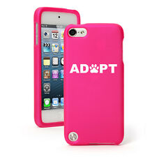 For Apple iPod Touch 4th 5th 6th Rubber Hard Case Cover Adopt Paw Print