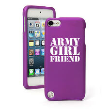 For Apple iPod Touch 4th 5th 6th Rubber Hard Case Cover Army Girlfriend