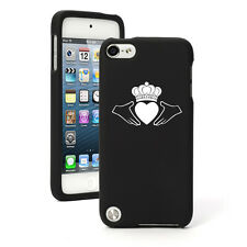 For Apple iPod Touch 4th 5th 6th Rubber Hard Case Cover Irish Claddagh