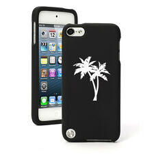 For Apple iPod Touch 4th 5th 6th Rubber Hard Case Cover Palm Trees