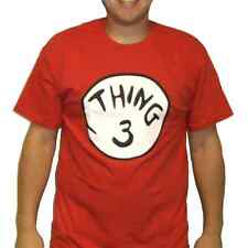 Thing 3 T-Shirt Costume Cat In The Hat Movie Dr Seuss Book Adult Womens Kids New