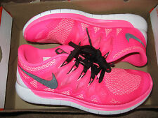 Nike Free 5.0 2014 Womens Running Shoes 7 8 9 11 Pink Pow Black 642199 603
