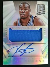 2014-15 Panini Spectra Spectacular Prizm Kevin Durant Jersey Auto 26/35 O2