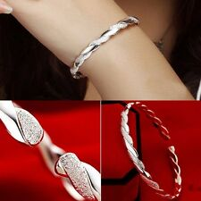 Hot Selling New Wholesale Fashion Jewelry Silver Plated Ladies Bangle Bracelet