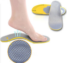 KUOL Premium Orthotic Shoes Insoles Insert High Arch Support Pad For Women Men