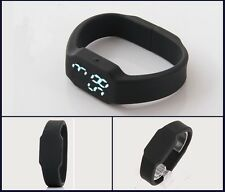 Smart Waterproof  Wrist Watch Bracelet Intelligent Light-on 3D Pedometer Calorie