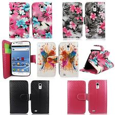 Samsung Galaxy S2 S II T989 Tmobile PU Leather Wallet Card Flip Case Cover Pouch