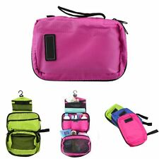 Waterproof Travel Toiletry Storage Makeup Organizer Folding Hanging Cosmetic Bag