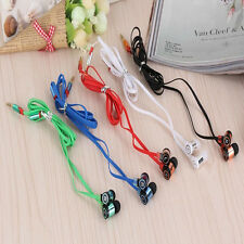 Colors Stereo 3.5mm In Ear Headphone Earphone Earbud For iPhone iPod Samsung PC