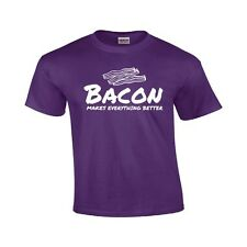 Bacon Makes Everything Better Funny T Shirt Bacon Lover Gift Shirt Party Tee