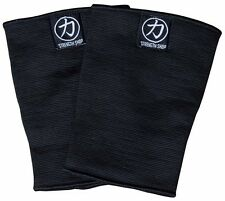 Strength Shop Thor Double Ply Knee Sleeves - BLACK - Strongman Powerlifting