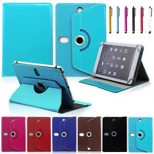 Universal Rotating Leather Flip Cover Case For 7 ~7.9 inch IOS Android Tablet PC