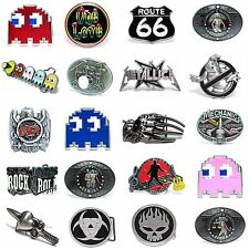 SBUM0344 MANY CASUAL STYLES HOROSCOPE / GAME / MUSIC ALLOY METAL BELT BUCKLE