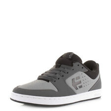 Mens Guys Etnies Verano Grey Black Skate Fashion Low Profile Trainers Uk Size