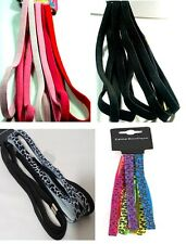 LONG THICK STRINGY HAIR ELASTICS KYLIE BAND HEADBAND/HAIRBAND/HAIR BOBBLES NEW