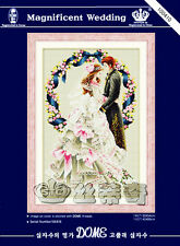 Magnificent Wedding with Wreath: To Sweet Love @ DOME counted cross stitch kit