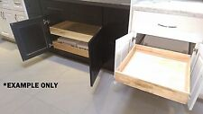 """Sliding 21"""" or 27"""" Pull Out shelves/storage for Wall, Base, and Pantry cabinets"""