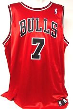 NEW Mens Adidas Ben Gordon #7 Chicago Bulls Red White Authentic Jersey Vintage