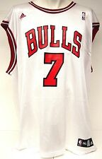 NEW Mens Adidas Ben Gordon #7 Chicago Bulls White Replica Jersey Vintage 7994A