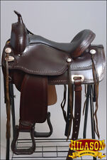 "TTGS100- HILASON GAITED WESTERN TRAIL PLEASURE ENDURANCE SADDLE 15"" 16"" 17"" 18"""