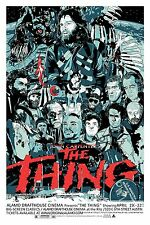 The Thing Hi-Res Movie Poster Red