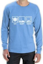Eat Sleep Code - Funny Programmer Coder Long Sleeve T-Shirt Coding Geek Gift